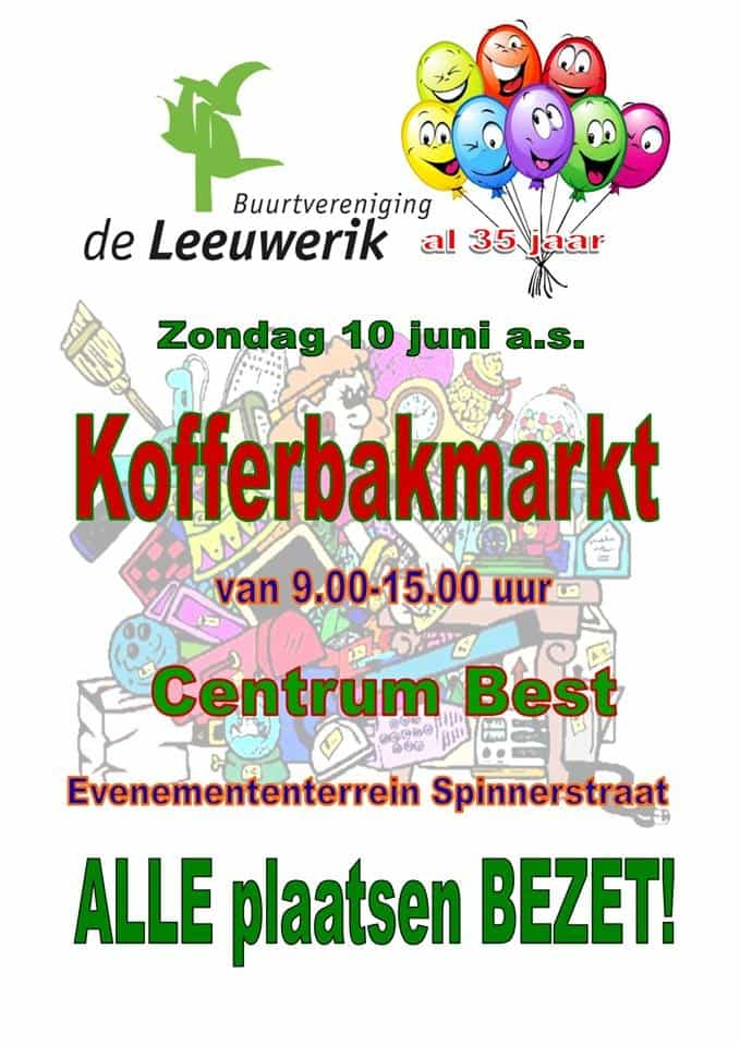 Trunk Market De Leeuwerik June 10 Best