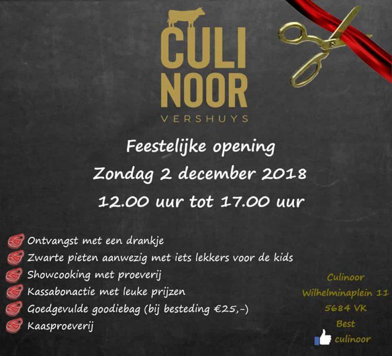 Verswinkel Culinoor 2 december opening Wilhelminaplein Best