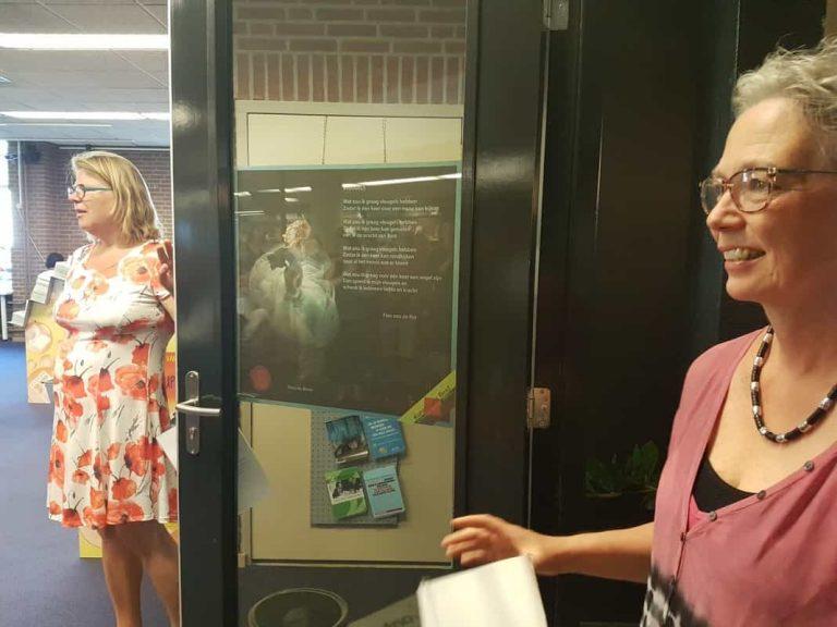 Winnaars raamgedichtenwedstrijd Best krijgen een eigen poster